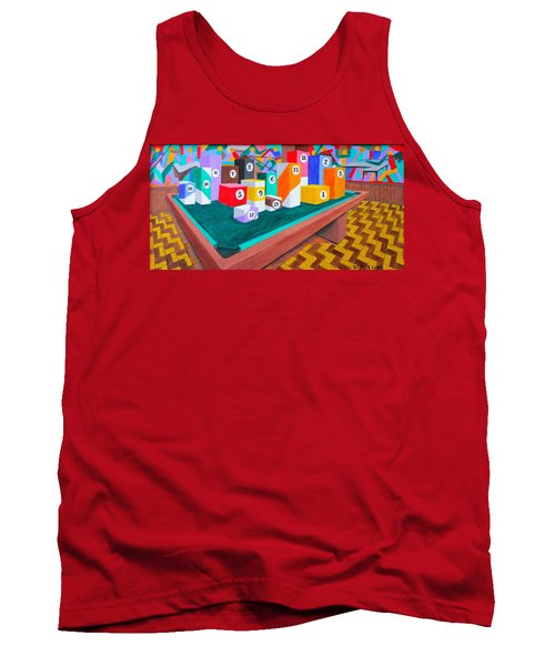Billiard Table Tank Top by Lorna Maza