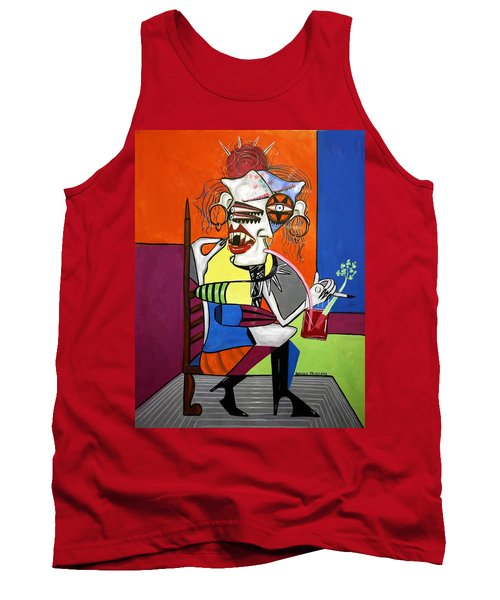 Bloody Mary Let The Dead Bury The Dead Tank Top