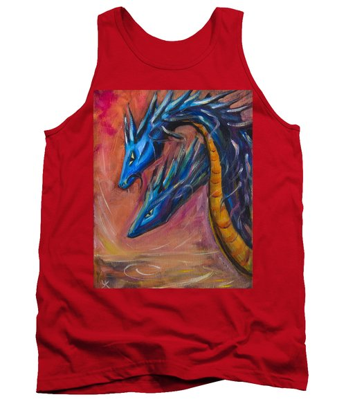 Blue Dragons Tank Top