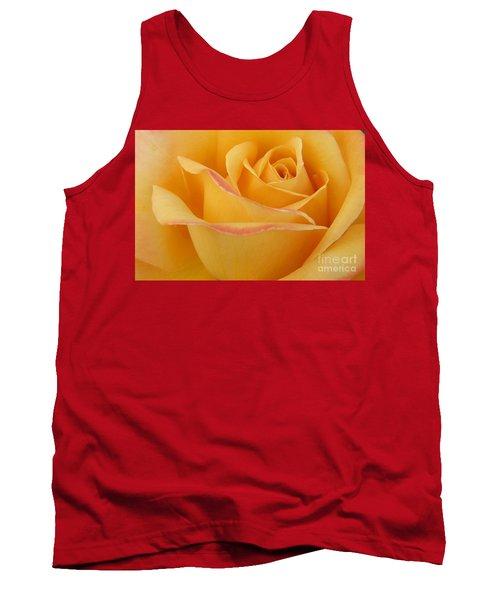 Blushing Yellow Rose Tank Top