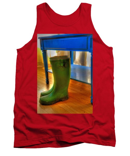 Boots Tank Top by Mark Alder