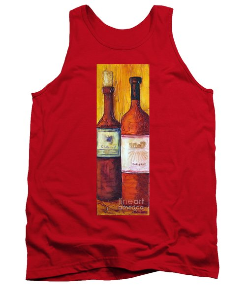 Bordeaux Vino Tank Top