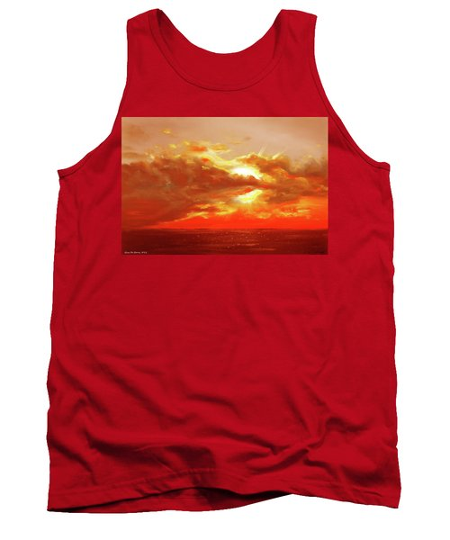 Bound Of Glory - Red Sunset  Tank Top