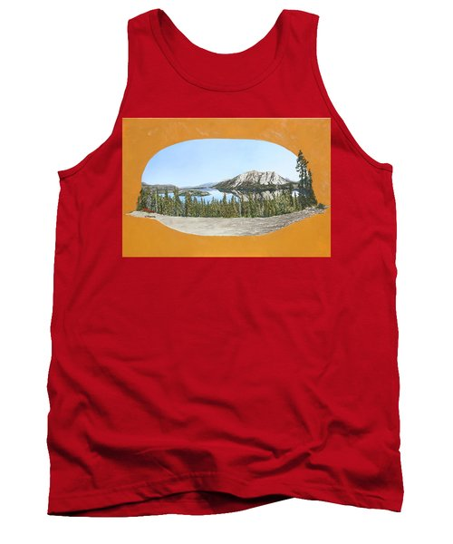 Bove Island Alaska Tank Top by Wendy Shoults