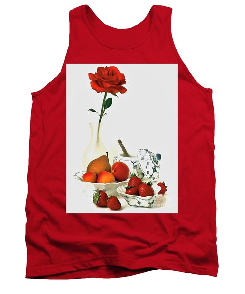 Breakfast For Lovers Tank Top
