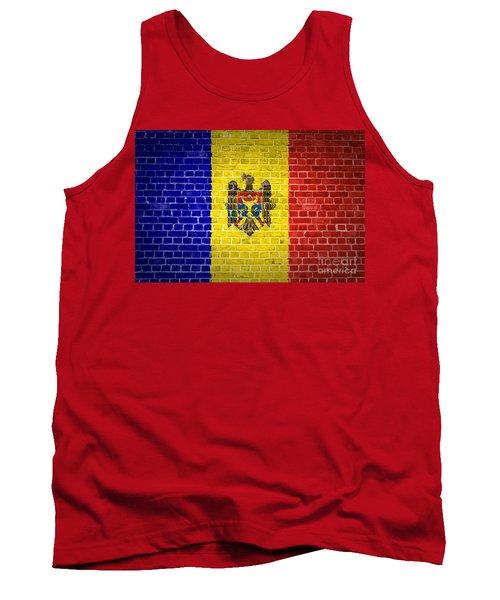 Brick Wall Moldova Tank Top