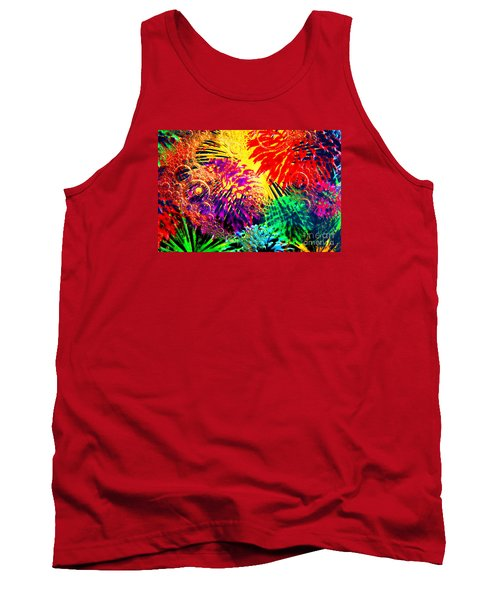 Tank Top featuring the photograph Bubbles by Geraldine DeBoer