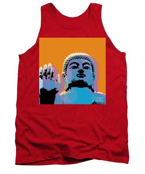 Buddha Pop Art - Warhol Style Tank Top