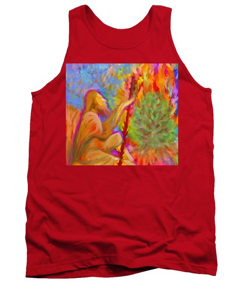 Burning Bush Of Yhwh Tank Top
