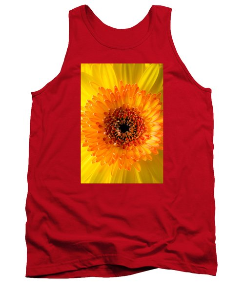 Burst Of Sunshine Tank Top by Shelby  Young
