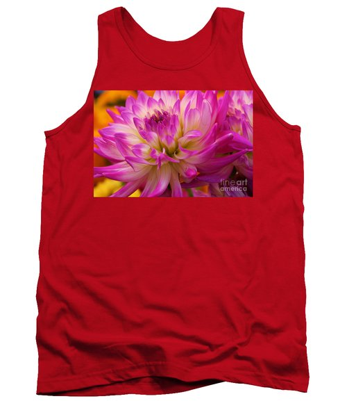 Tank Top featuring the photograph Bursting With Color by John S