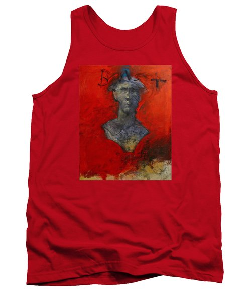 Bust Ted - With Sawdust And Tinsel  Tank Top by Cliff Spohn