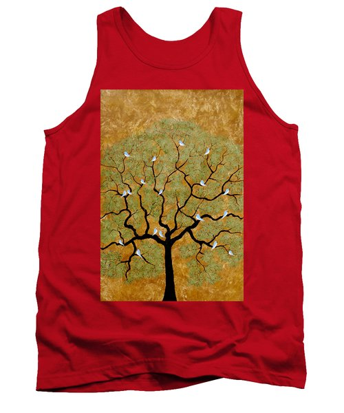 By The Tree Re-painted Tank Top
