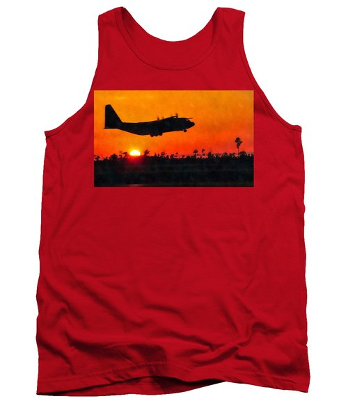 C-130 Sunset Tank Top