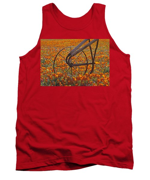 California Poppy Field Tank Top