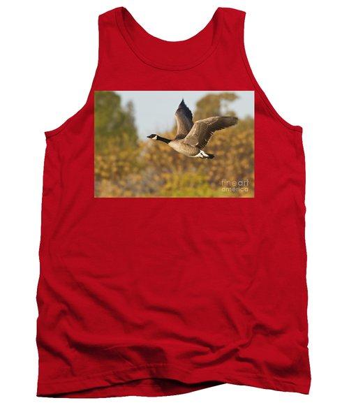 Canada Goose In The Skies  Tank Top by Bryan Keil