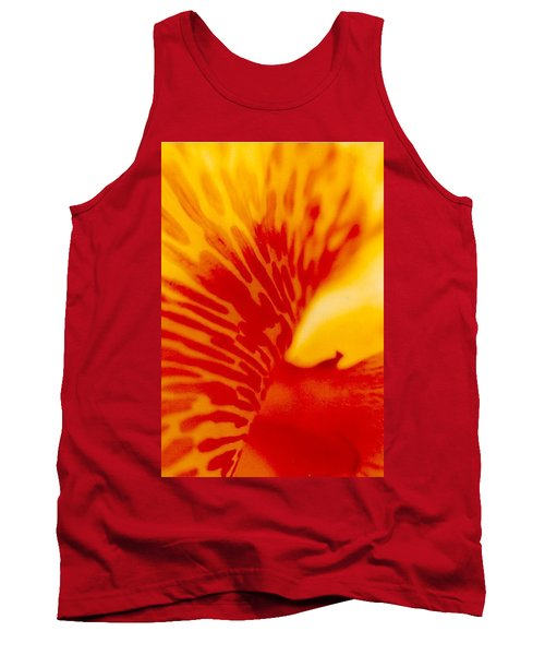 Tank Top featuring the photograph Canna Lilly by Michael Hoard