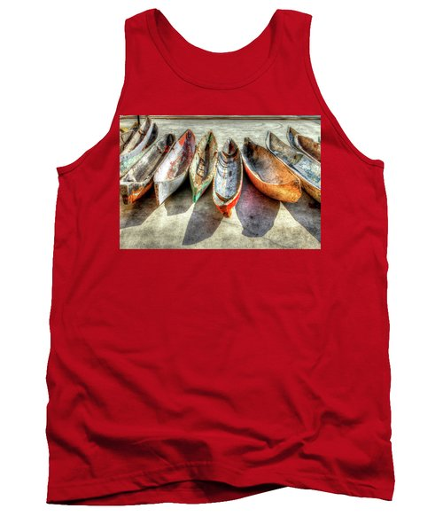 Canoes Tank Top