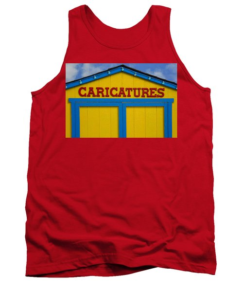 Caricatures Tank Top