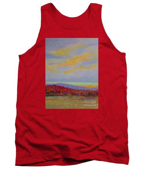 Carolina Autumn Sunset Tank Top