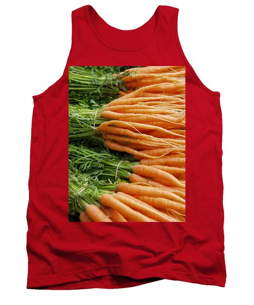Carrots Tank Top by Ron Harpham