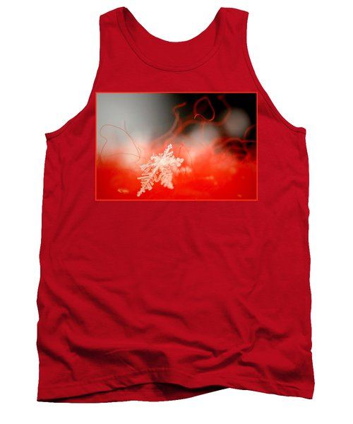 Catching A Snowflake Tank Top