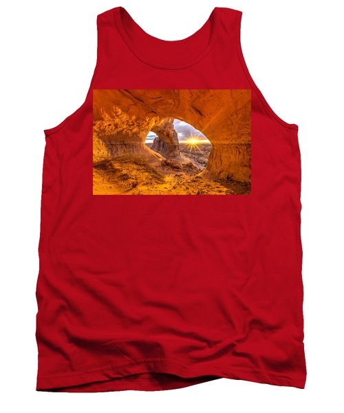 Tank Top featuring the photograph Cave Arch by Dustin  LeFevre