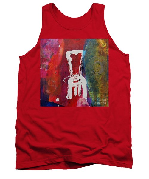 Tank Top featuring the painting Chair by Robin Maria Pedrero