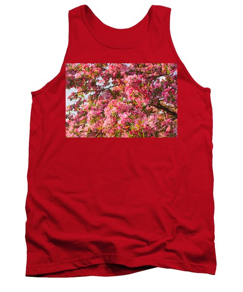 Cherry Blossoms In Washington D.c. Tank Top