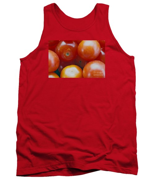Tank Top featuring the photograph Cherry Tomatoes by Cassandra Buckley
