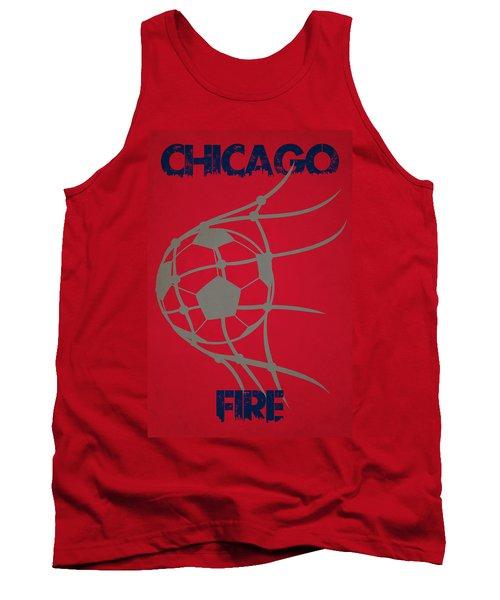 Chicago Fire Goal Tank Top