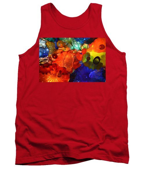 Chihuly-8 Tank Top by Dean Ferreira