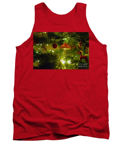 Tank Top featuring the photograph Christmas Card by Cassandra Buckley