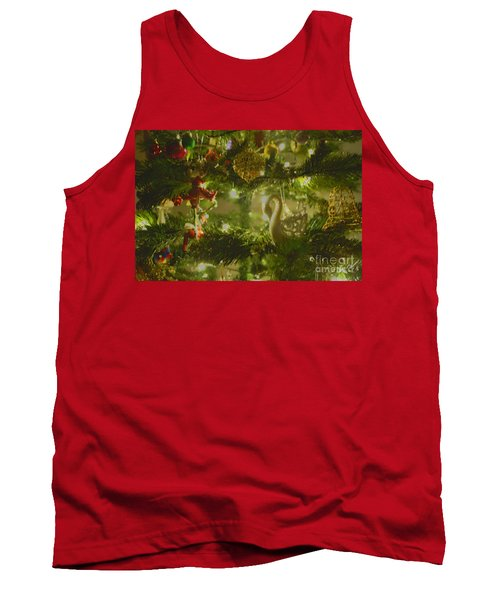 Tank Top featuring the photograph Christmas Cheer by Cassandra Buckley