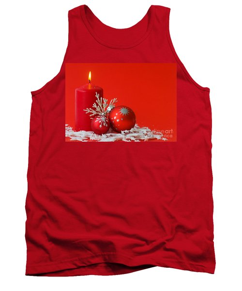 Christmas Decoration Background Tank Top