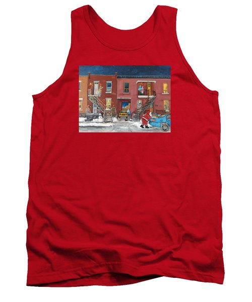 Christmas In The City Tank Top by Reb Frost