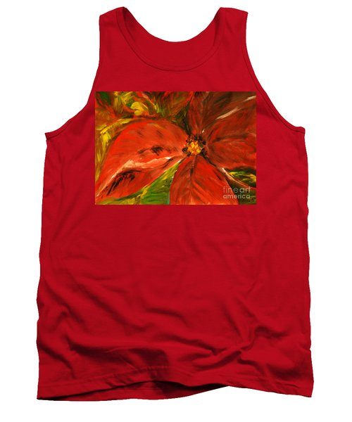 Christmas Star Tank Top by Jasna Dragun