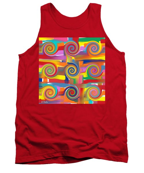 Circles Of Life Tank Top
