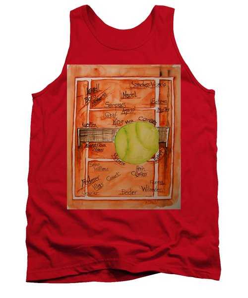 Clay Courters Tank Top