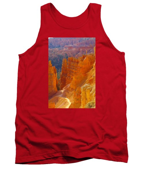 climbing out of the Canyon Tank Top