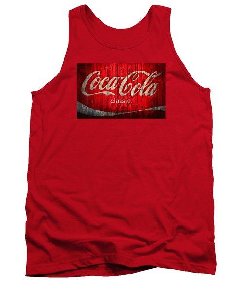 Coca Cola Barn Tank Top