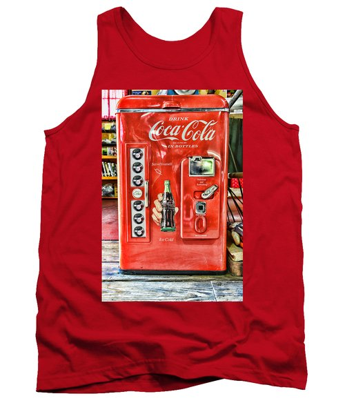 Coca-cola Retro Style Tank Top