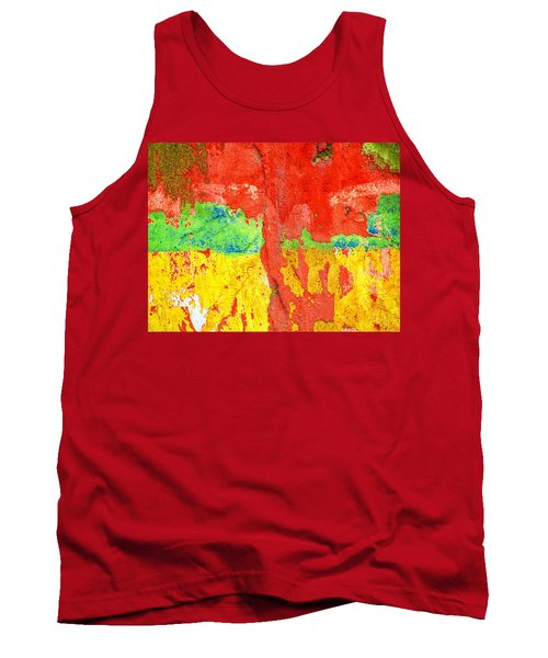 Color Splash  Tank Top by Prakash Ghai