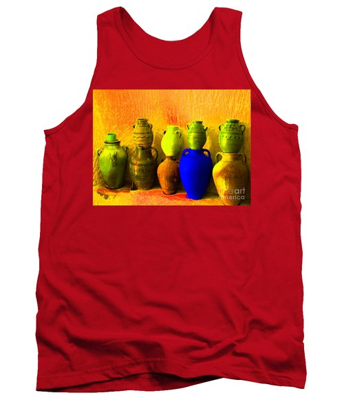Colorful Pottery Tank Top
