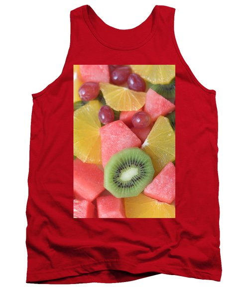 Colourful Fruit Salad (full-frame) Tank Top