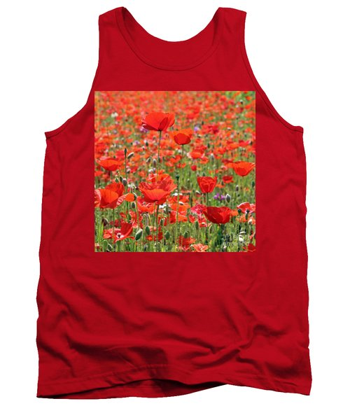 Commemorative Poppies Tank Top