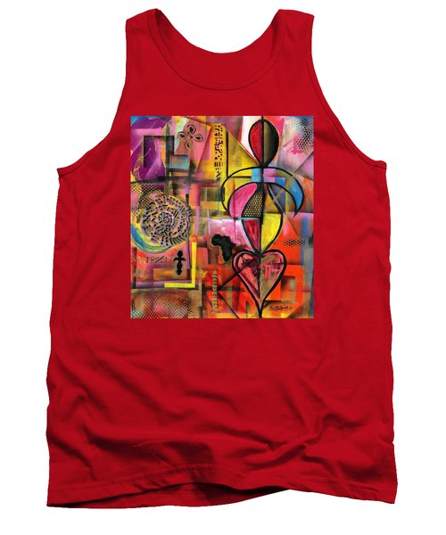 Compassionate Woman X2 Tank Top by Everett Spruill