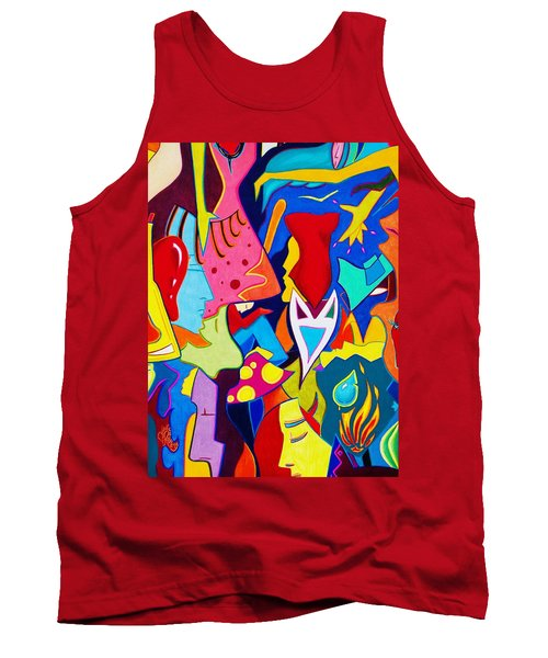 Controlled Chaos Tank Top