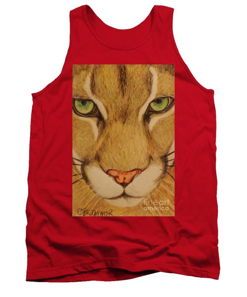 Cougar Tank Top by Christy Saunders Church