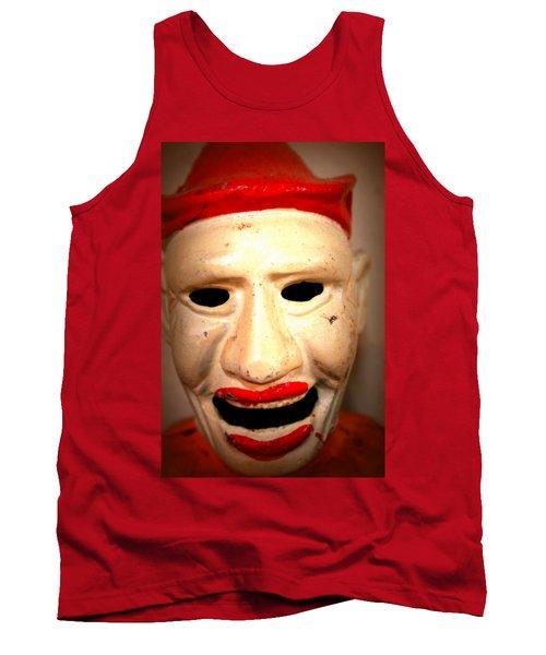 Creepy Clown Tank Top by Lynn Sprowl